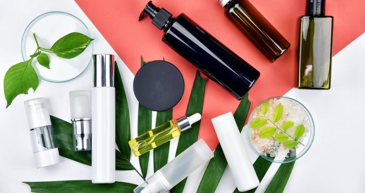 A selection of Korean beauty and skincare products